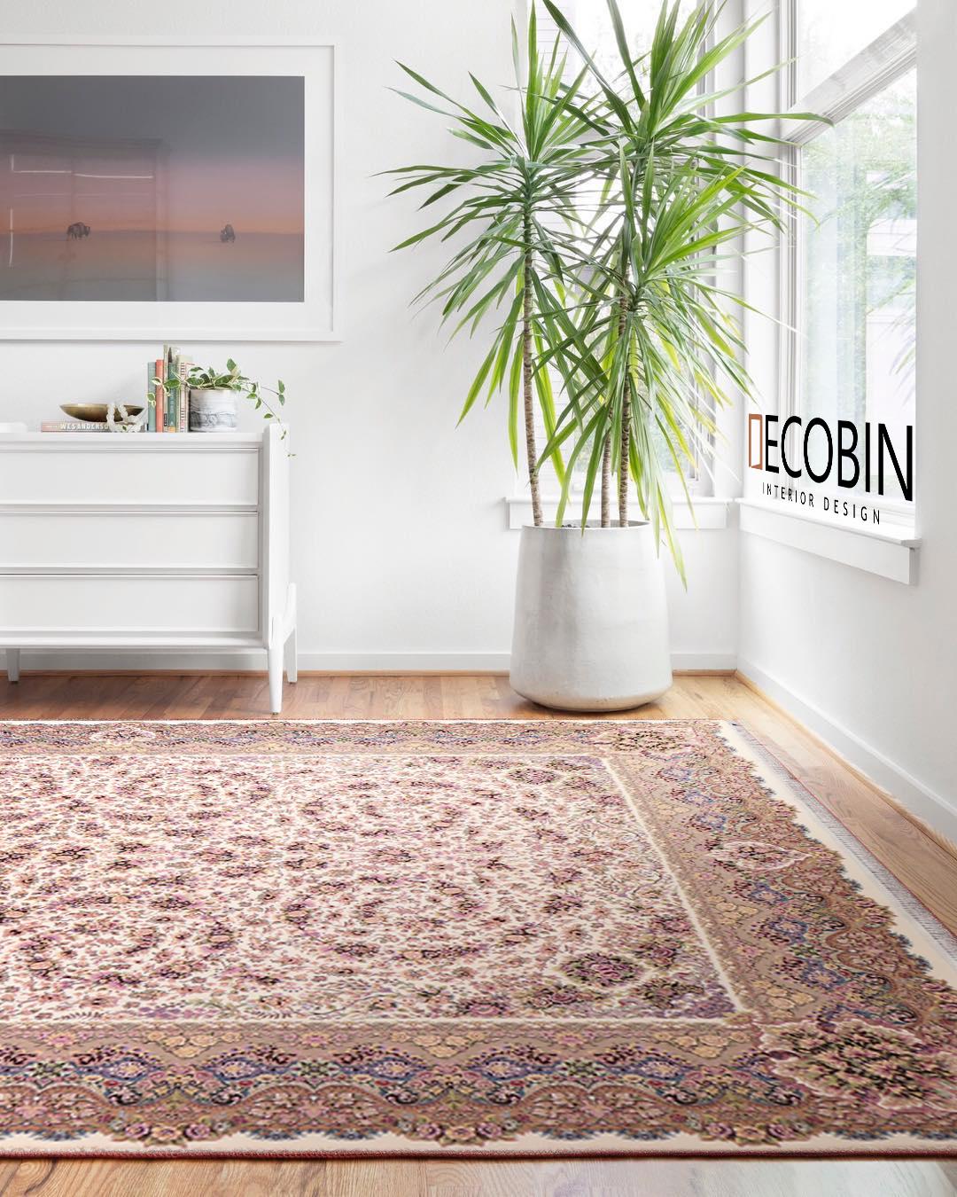 فرش ماشینی گل برجسته