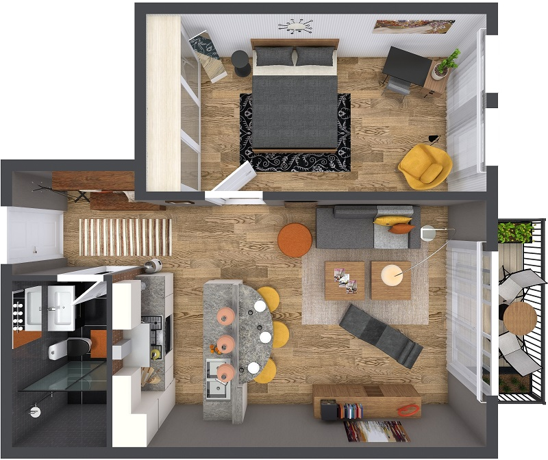 RoomSketcher-3D-Floor-Plan-Small-Apartment-Furniture-Layout_800w